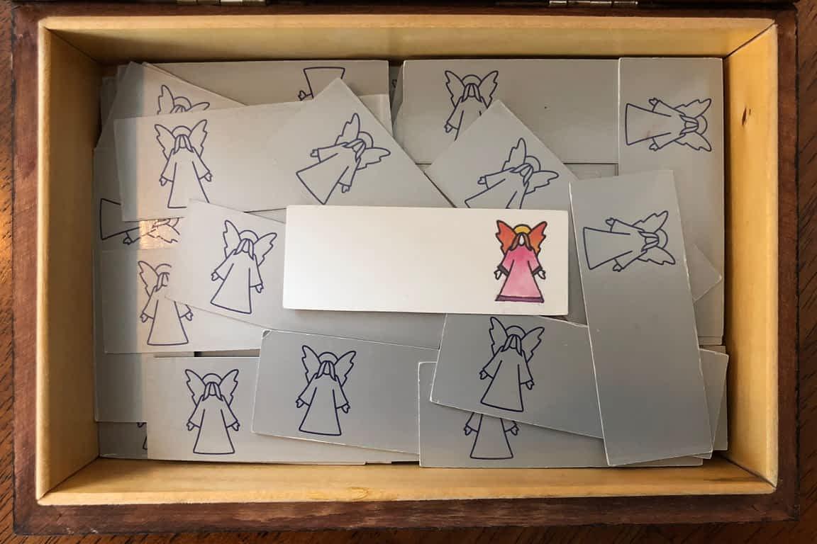 Angela Rider - Blank Angel Card