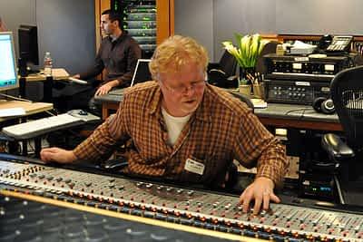 Doug Rider at Capitol Studios