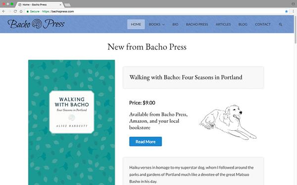 Bacho Press Laptop Home