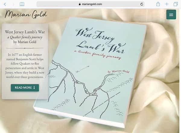 Marian Gold Website