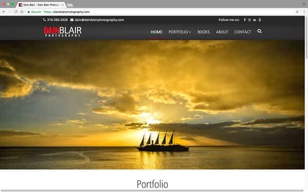 Dain Blair Photography Laptop Home