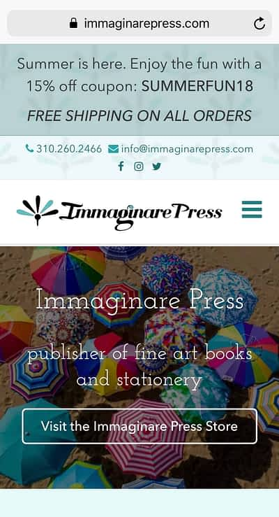 Immaginare Press Mobile Home