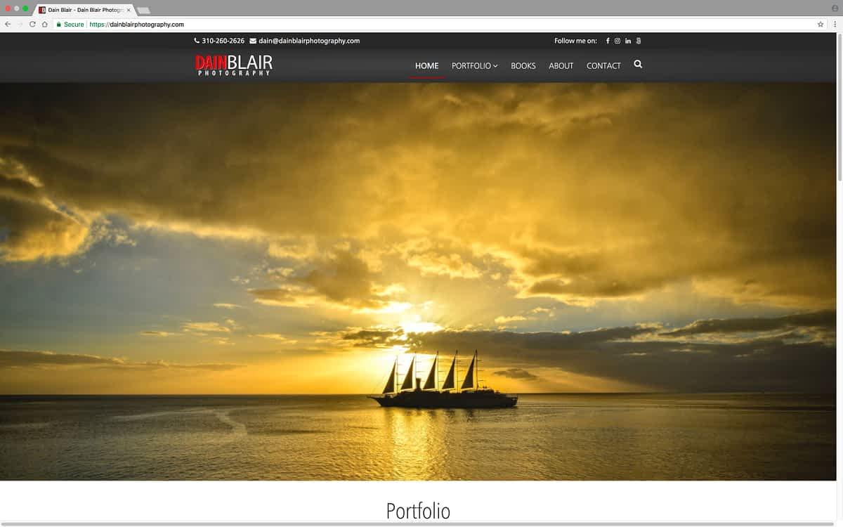Dain Blair Photography Desktop Home
