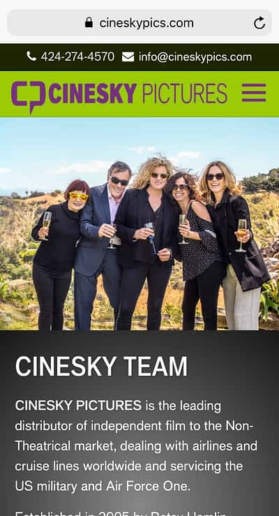 CineSky Pictures Mobile Home