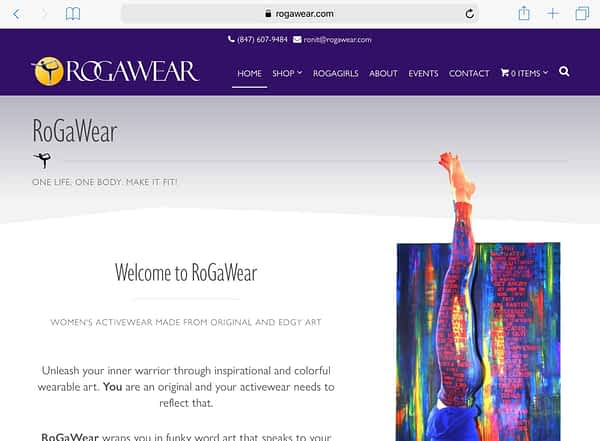 RoGaWear Tablet Home