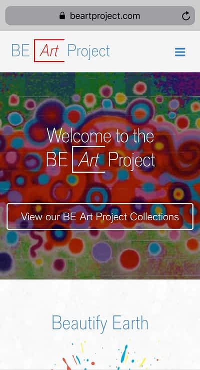 BE Art Project Mobile Home