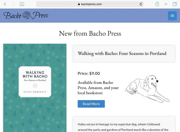Bacho Press Tablet Home